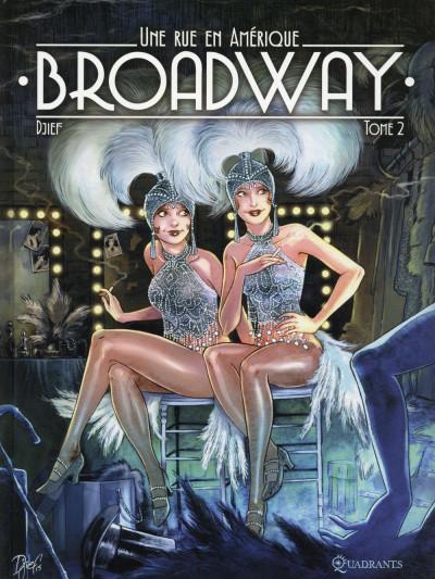 Couverture Broadway - Une rue en Amérique tome 2