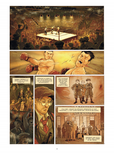 Page 1 Broadway - Une rue en Amérique tome 2