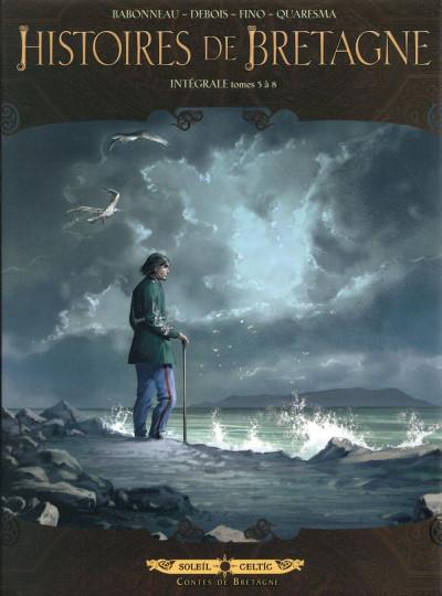 Couverture Histoires de Bretagne - Intégrale tome 5 à tome 8