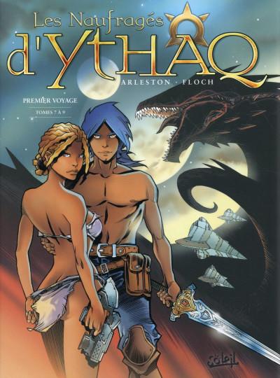 Couverture Les Naufragés d'Ythaq - Intégrale tome 7 à tome 9