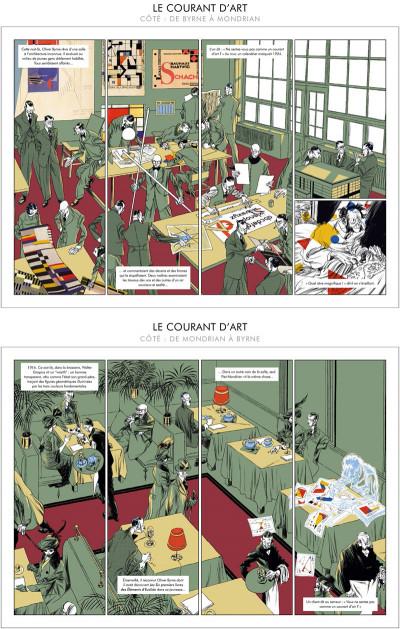 Page 3 Le Courant d'Art - De Byrne à Mondrian - De Mondrian à Byrne