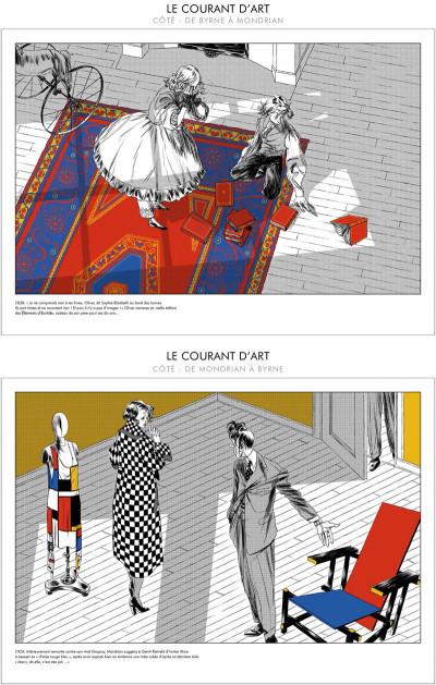Page 4 Le Courant d'Art - De Byrne à Mondrian - De Mondrian à Byrne