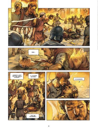 Page 4 L' aigle et la salamandre tome 1