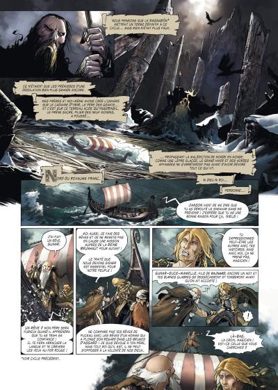 Page 1 Le crépuscule des dieux tome 9
