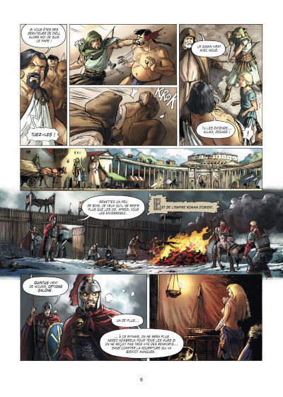 Page 4 Le crépuscule des dieux tome 9