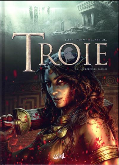 Couverture Troie tome 4