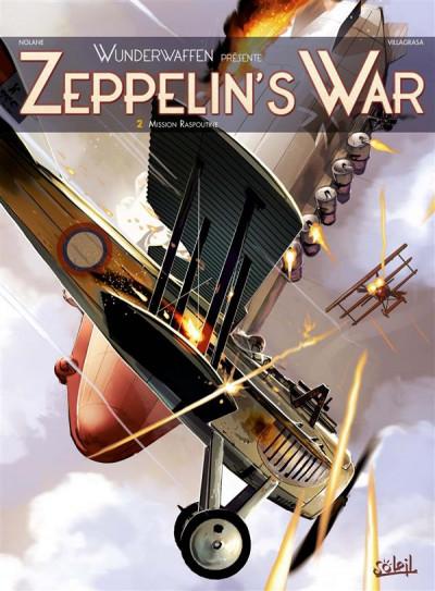 Couverture Wunderwaffen présente Zeppelin's war tome 2