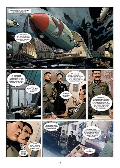 Page 1 Wunderwaffen présente Zeppelin's war tome 2