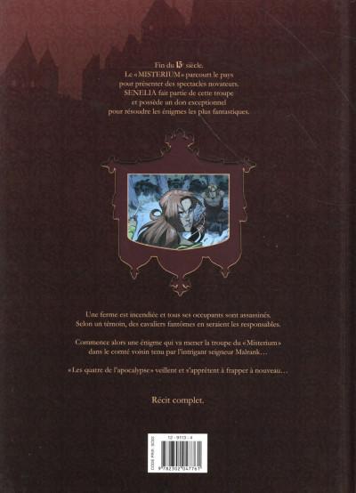 Dos Les Enquêtes du Misterium tome 2