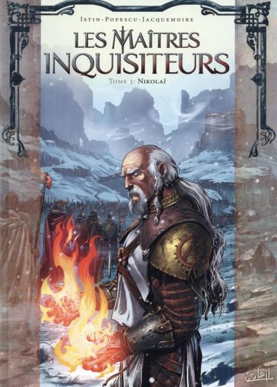 Couverture Les Maîtres inquisiteurs tome 3
