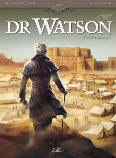 Couverture Dr Watson tome 2
