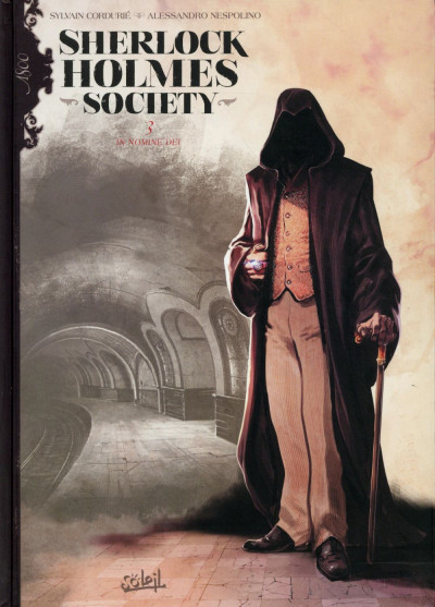 Couverture Sherlock Holmes Society tome 3