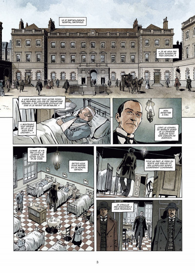 Page 4 Sherlock Holmes Society tome 3