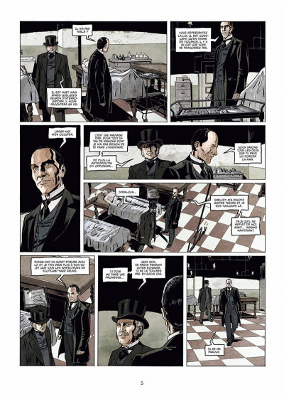 Page 6 Sherlock Holmes Society tome 3