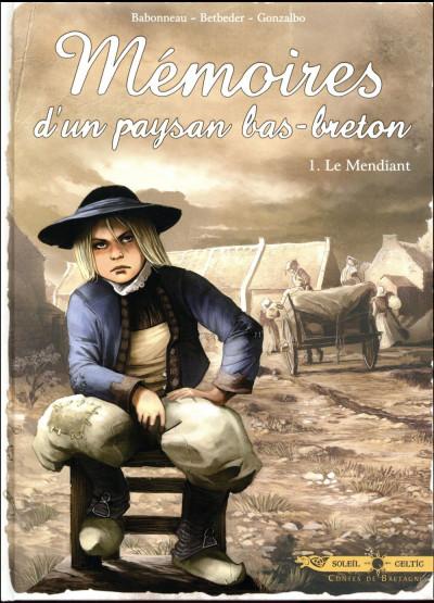 Couverture Mémoires d'un paysan bas-breton tome 1