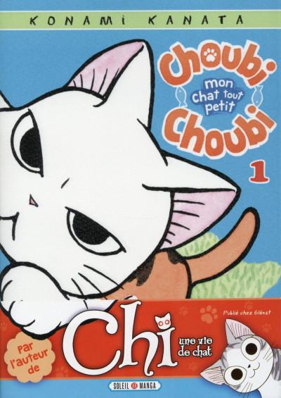 Couverture Choubi-Choubi - Mon chat tout petit tome 1