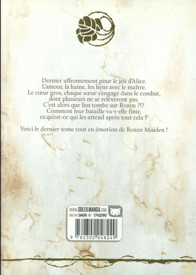 Dos Rozen maiden - Saison 2 tome 10