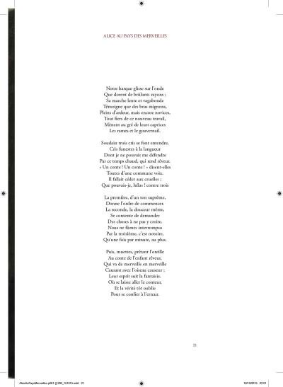 Page 3 Alice au pays des merveilles