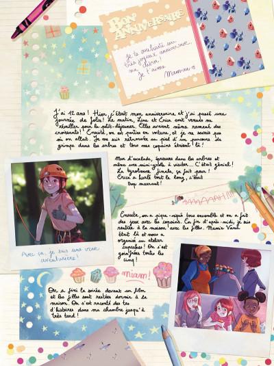 Page 1 Les carnets de Cerise tome 4