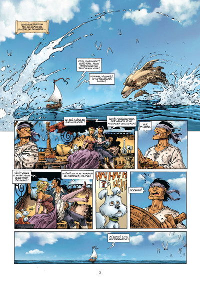 Page 1 Lanfeust Odyssey tome 7