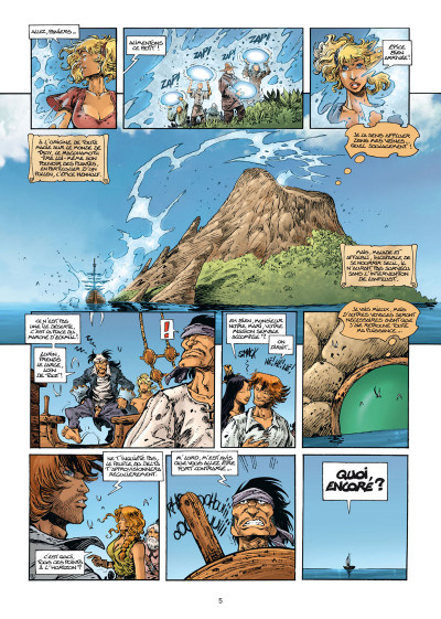 Page 3 Lanfeust Odyssey tome 7