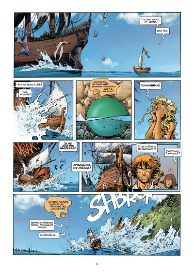Page 4 Lanfeust Odyssey tome 7