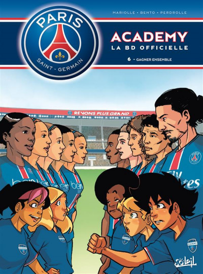 Couverture PSG Academy tome 6