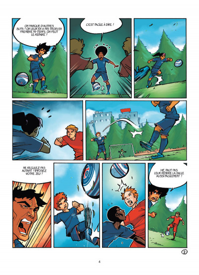 Page 2 PSG Academy tome 6