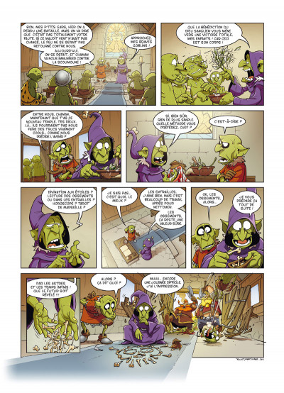 Page 1 Goblin's tome 9