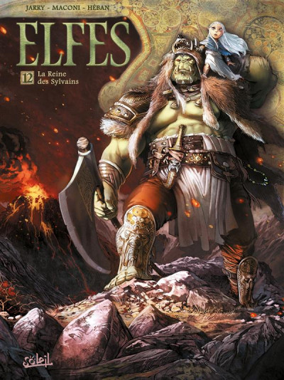 Couverture Elfes tome 12