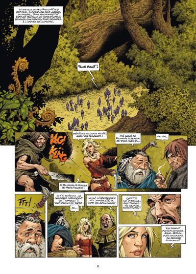 Page 4 Les forêts d'opale tome 9