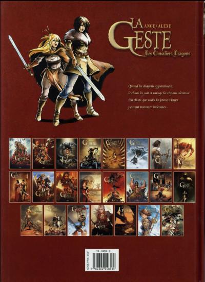 Dos La geste des chevaliers dragons tome 22