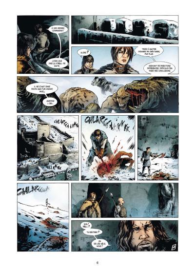 Page 4 La geste des chevaliers dragons tome 22