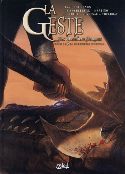 Couverture La Geste des Chevaliers dragons tome 21
