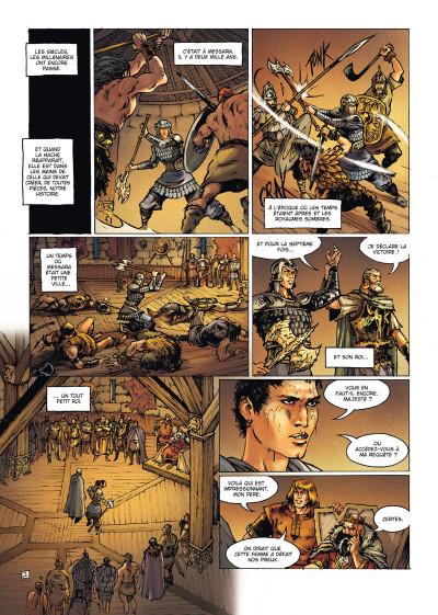 Page 2 La Geste des Chevaliers dragons tome 21