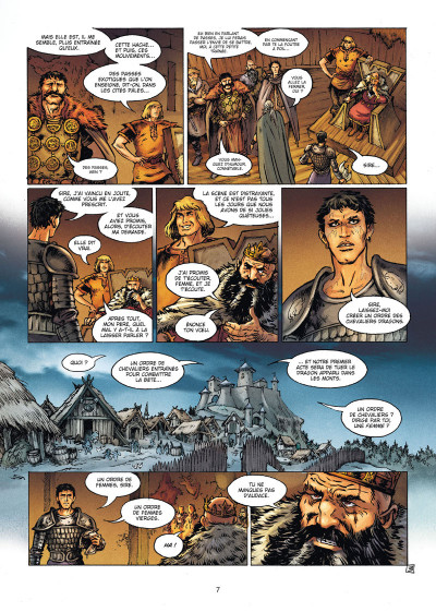 Page 3 La Geste des Chevaliers dragons tome 21