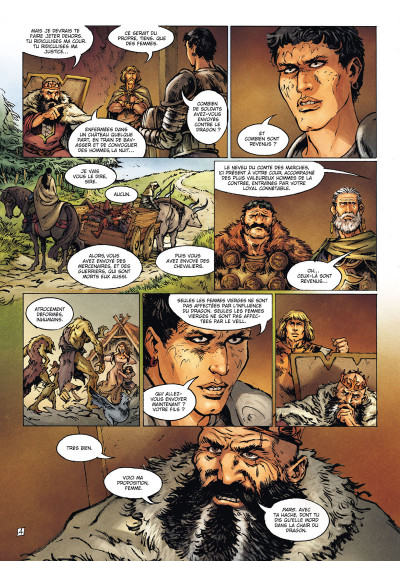 Page 4 La Geste des Chevaliers dragons tome 21