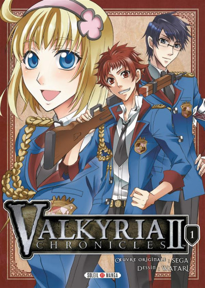 Couverture Valkyria chronicles II tome 1