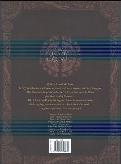 Dos Les Forêts d'Opale - Intégrale tomes 1 à 3