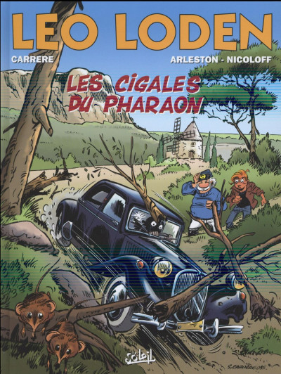 Couverture Léo Loden tome 24