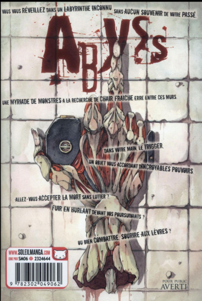 Dos Abyss tome 1