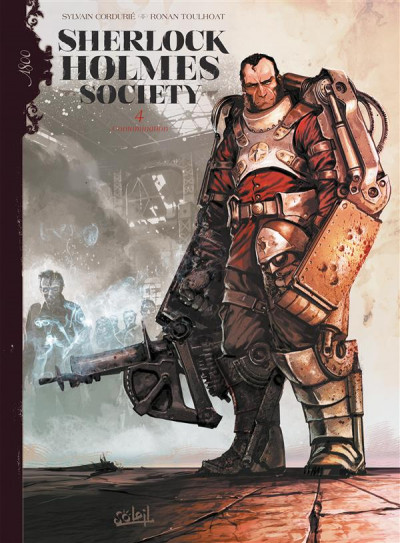 Couverture Sherlock Holmes society tome 4