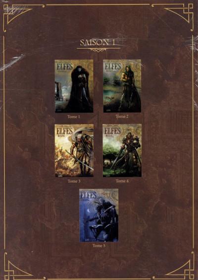Dos Elfes coffret tomes 1 à 5