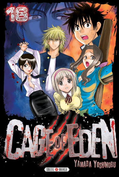 Couverture Cage of eden tome 16