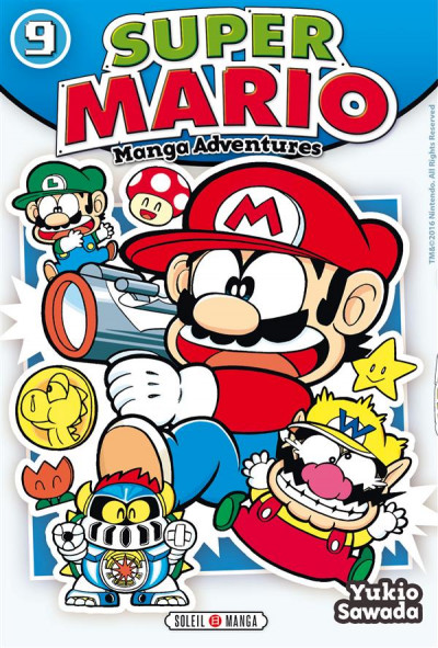 Couverture Super Mario - Manga adventures tome 9