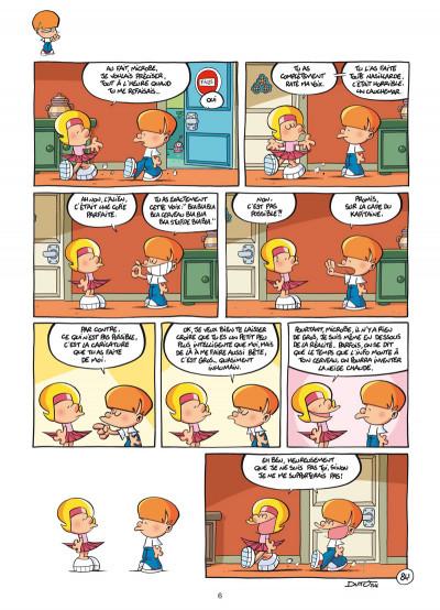 Page 4 Les p'tits diables tome 21