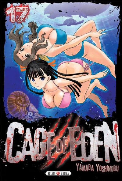 Couverture Cage of eden tome 17