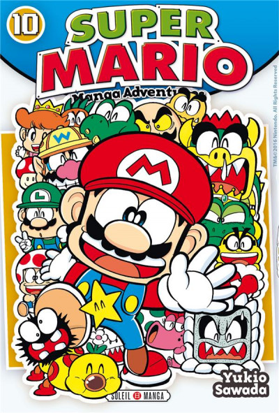 Couverture Super Mario - Manga adventures tome 10