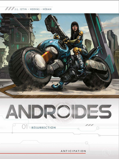 Couverture Androïdes tome 1