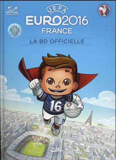 Couverture Euro 2016 - La BD officielle